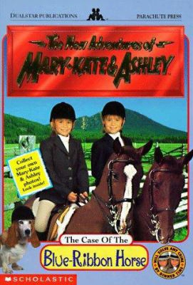 The Case Of The Blue-ribbon Horse [with 2 Mary-kate & Ashley Photos]