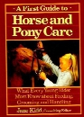 First Guide to Horse and Pony Care