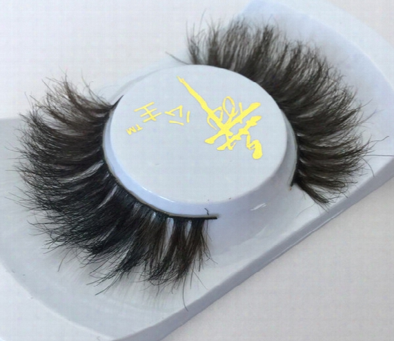 007 Fake Eyelashes Horse Hair False Eyelashes Nude Makeup Luxurious Hand-made Natural Thick Soft Horse Hair Fake Eye Lash Free Shipping