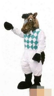 Customized Mr. Horse Mascot Costume Factory Direct Factory Direct Free Ship