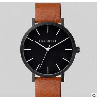 New Arrival Luxury Horse Watch Women Men Wristwatches Fashion Pink Gold Quartz-watch Female Clock Relogio Feminino