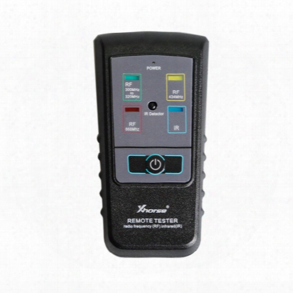 New Arrival Original Xhorse Remote Tester For Radio Frequency Infrared 300mhz - 320hz/ 434mhz/ 868mhz High Quality