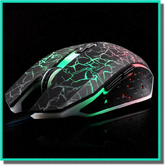 New Design Wired Mouse X8 Optical Mouse Horsemen Of The Mousse For Lol Dota Cf Game Computer Accessories Wholesale