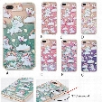Cartoon Horse Quicksand Case Floating Glitter Bling Cover 3D Liquid Back Shell For iphone7 7plus 6 6plus 20pcs