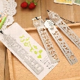 High Quality 10pcs/lot Cute Creative Horse Birdcage Shape Hollow Metal Bookmark Ruler Student Gift Creative Free Shipping Papelaria