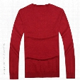 TOP100% Cotton Sweater Men POLO sport Sweater Blusa Masculina Mens Sweaters Jumpers knitting Men V-Neck Sweater Jerseys