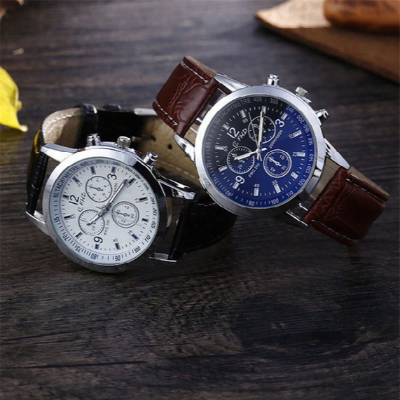 Waterproof Men Watches Thin 40mm Dial Leather Luxury Brand Shopping Big Sale Wholesale Price Cheap Horse Fifth New Top
