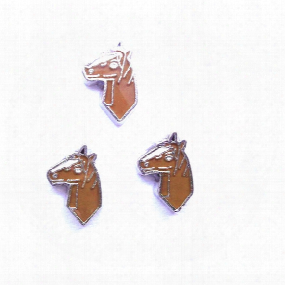 Horse Charms , Floating Charms For Living Locket, 20pcs/lot, Free Shipping-0131