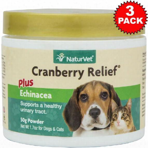 3- Pack Naturvet Cranberry Relie (150 Gm)