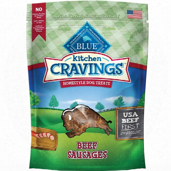 Blue Buffalo Kitchen Cravings - Beef Sausages (6 Oz)