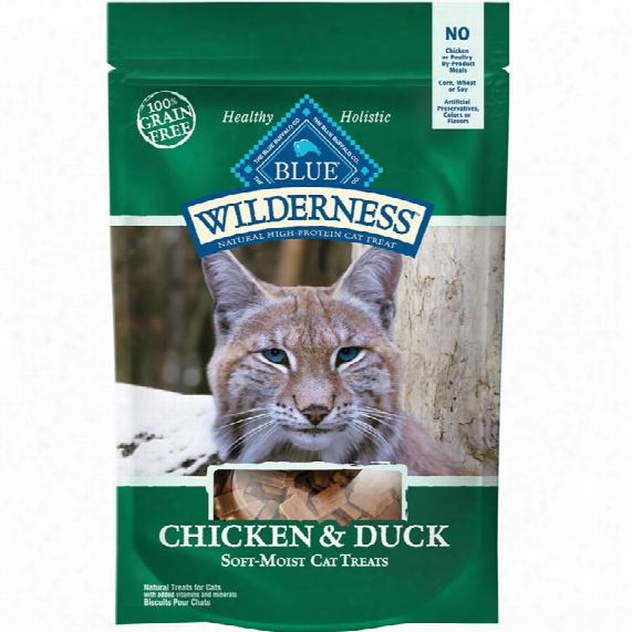 Blue Buffalo Wilderness Cat Treats - Chicken & Duck (2 Oz)