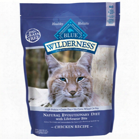 Blue Buffalo Wilderness Grain-free Chicken Recipe For Cats (12 Lb)
