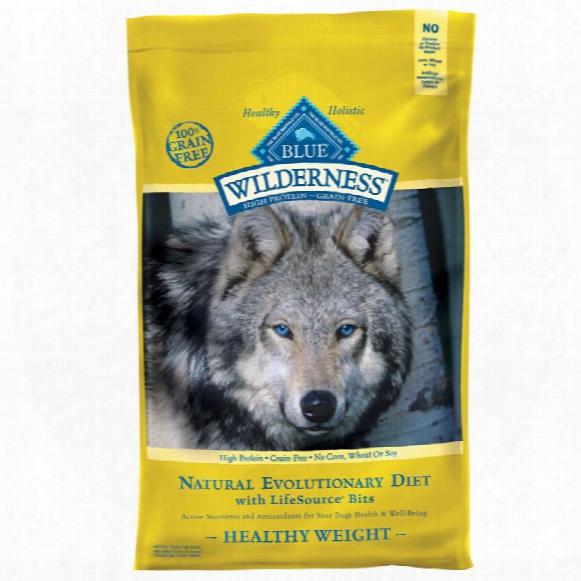 Blue Buffalo Wilderness Grain-free Healthy Weight Recipe (24 Lb)