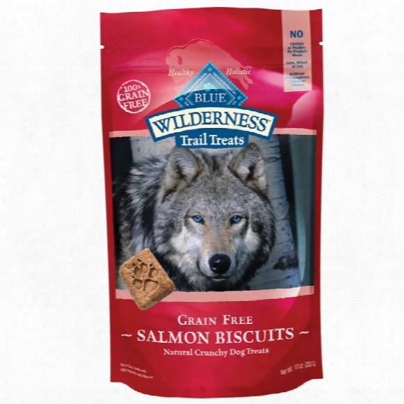 Blue Buffalo Wild Grain-free Trail Biscuits - Salmon (10 Oz)