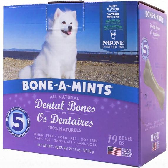 Bone-a-mints Dental Bones - Medium (19 Pack)