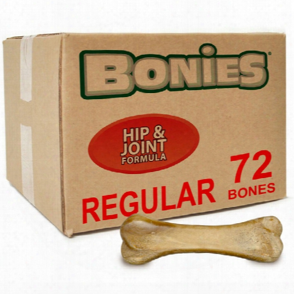 Bonies Hip & Joint Health Bulk Box Large (72 Bones)