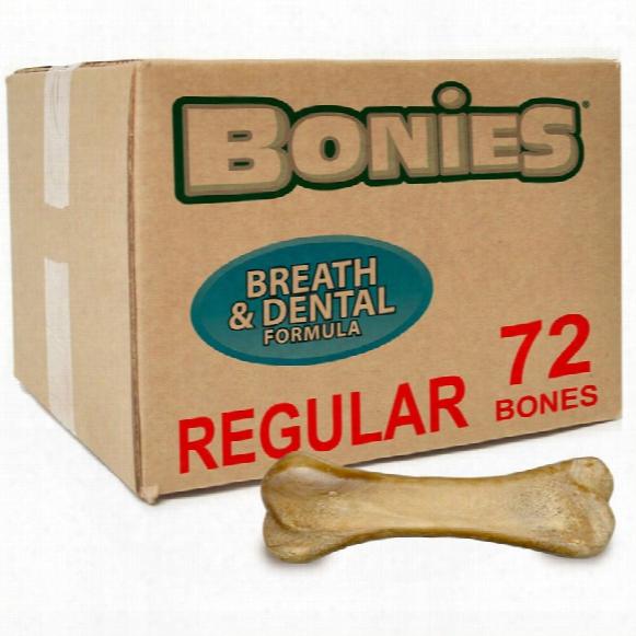 Bonies Natural Dental Health Bulk Box Large (72 Bones)