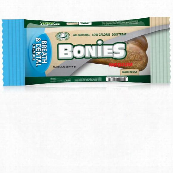 Bonies Natural Dental Health Medium Single Bone (1.43 Oz)