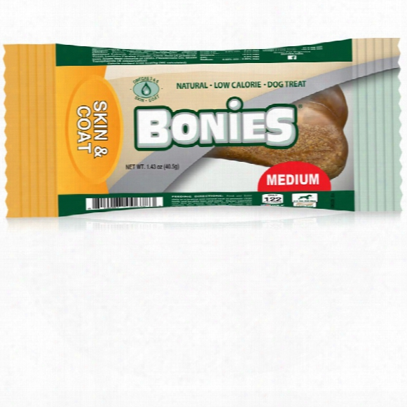 Bonies Skin & Coat Health Medium Single Bone (1.43 Oz)