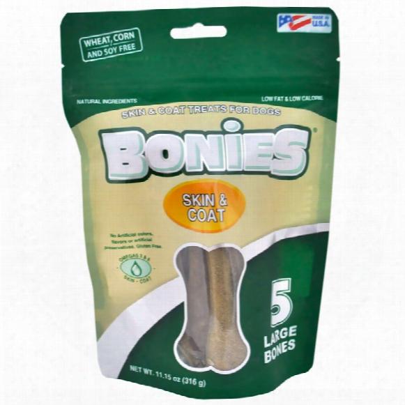 Bonies Skin & Coat Health Multi-pack Large (5 Bones / 11.15 Oz)