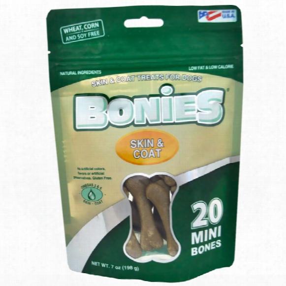 Bonies Skin & Coat Health Multi-pack Mini (20 Bones / 7 Oz)