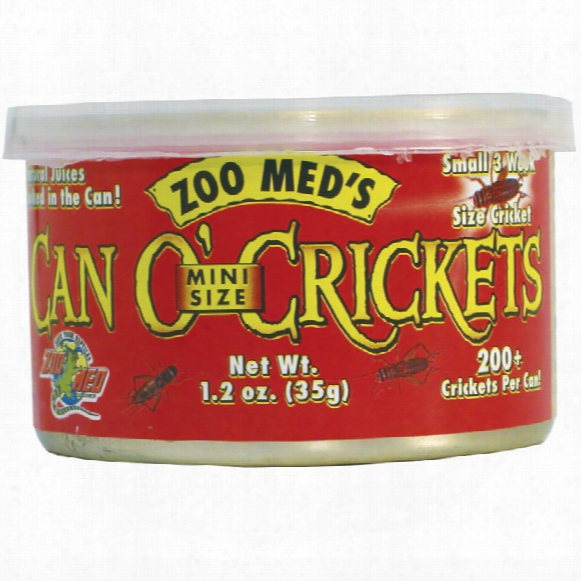 Can O' Crickets (1.2 Oz)