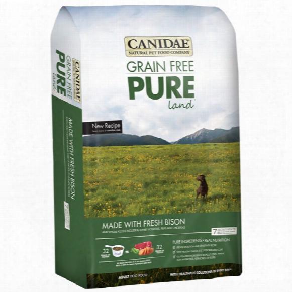 Canidae Grain Free Pureland With Fresh Bison Dog Food (24 Lb)