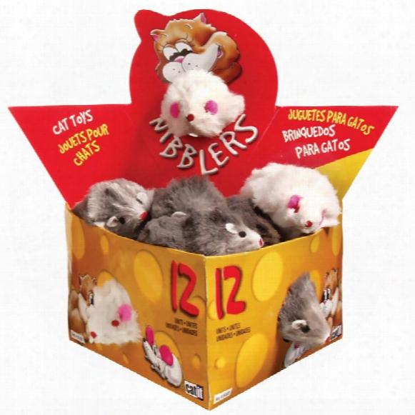Catit Fur Mouse (12/box) - Large