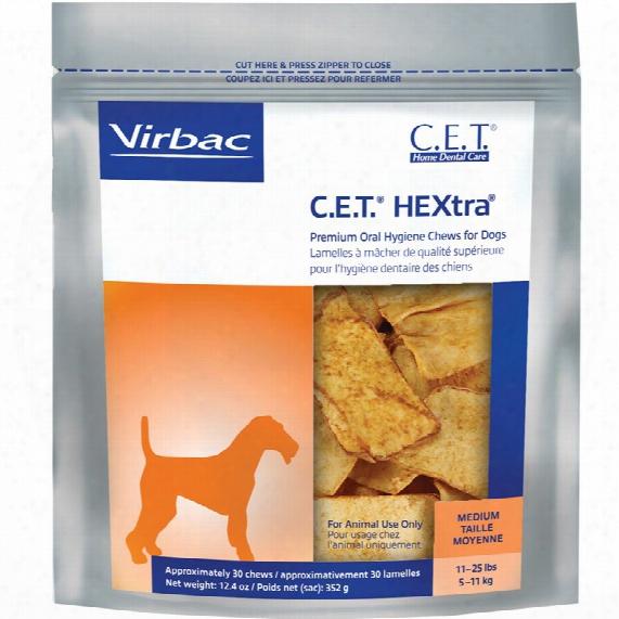 Cet Hextra Premium Chews - Medium (30 Chews)