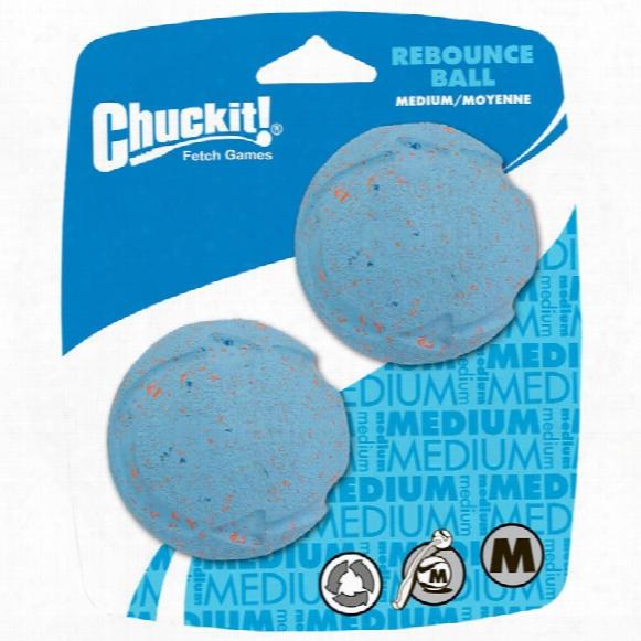 Chuckit! Rebounce Ball - Medium (2 Pack)