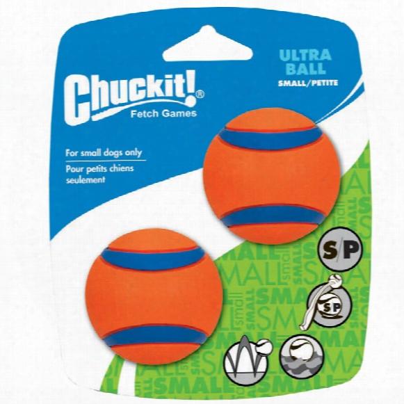 Chuckit! Ultra Ball - Small (2 Pack)