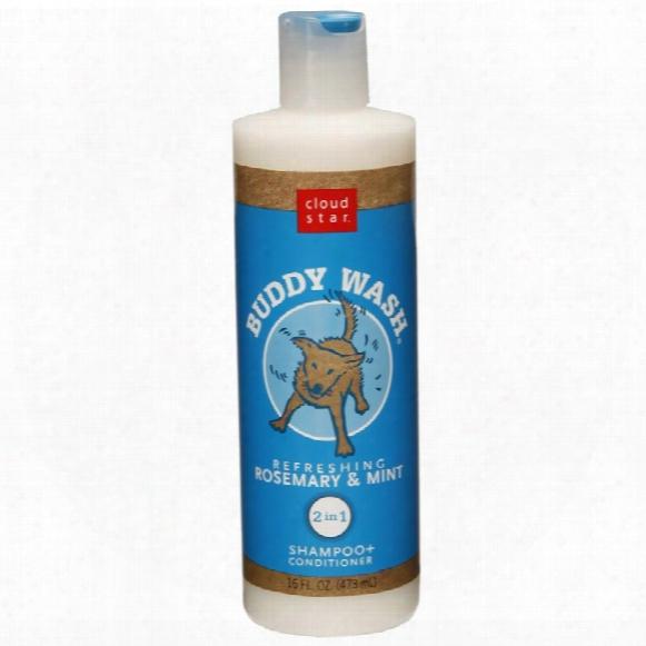 Cloud Star Buddy Wash Dog Shampoo & Conditioner - Rosemary Mint (16 Oz)