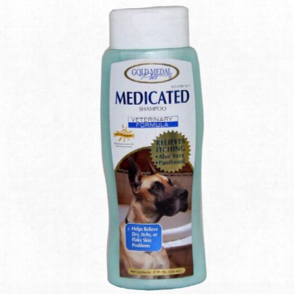 Gold Medal Medicated Shampoo (17 Oz)