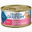 Blue Buffalo Healthy Gourmet Pate Indoor Salmon Entree for Cats - (24 pack) 5.5oz