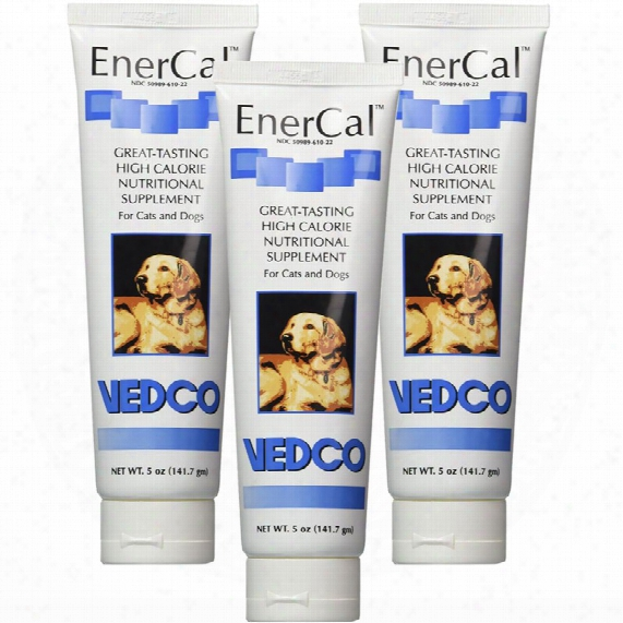 3-pack Enercal High Calorie Nutritional Supplement Gel (15 Oz)