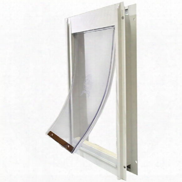 Deluxe Alumnum Pet Door - Medium