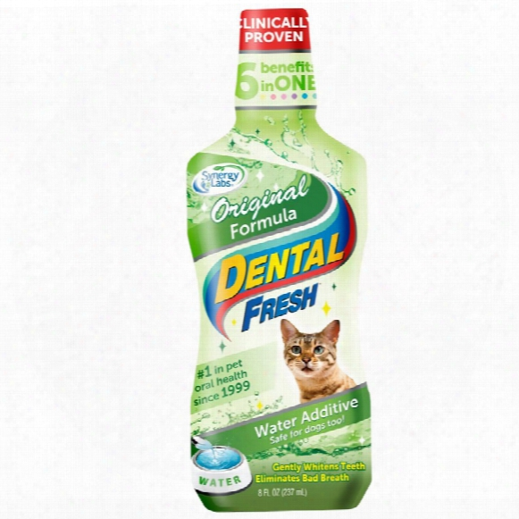 Dental Fresh Original Formula Water Additive For Cats (8 Fl Oz)