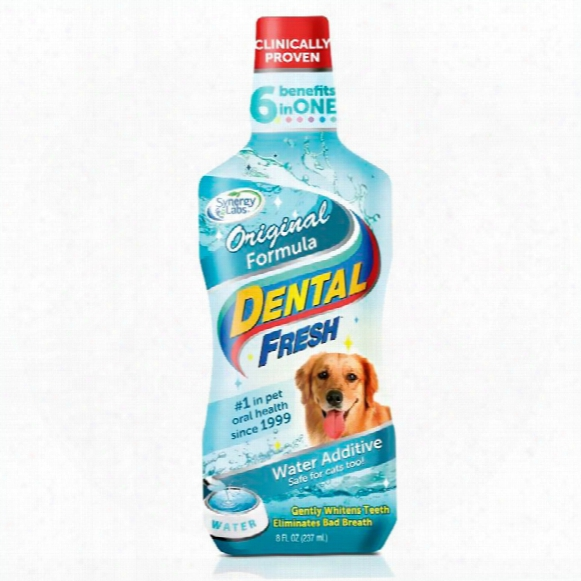 Dental Fresh Original Formula Water Additive For Dogs (8 Fl Oz)
