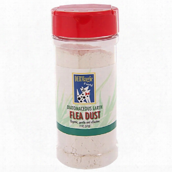 Dermagic Diatomaceous Earth Flea Dust (2 Oz)