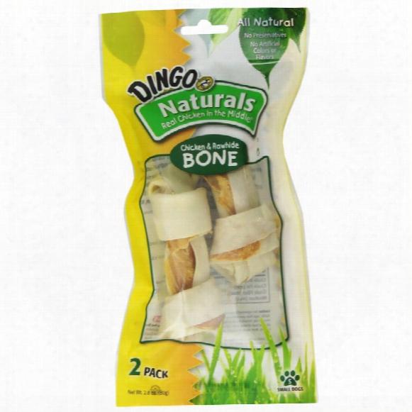 Dingo Naturals Small Bone (2 Pack)