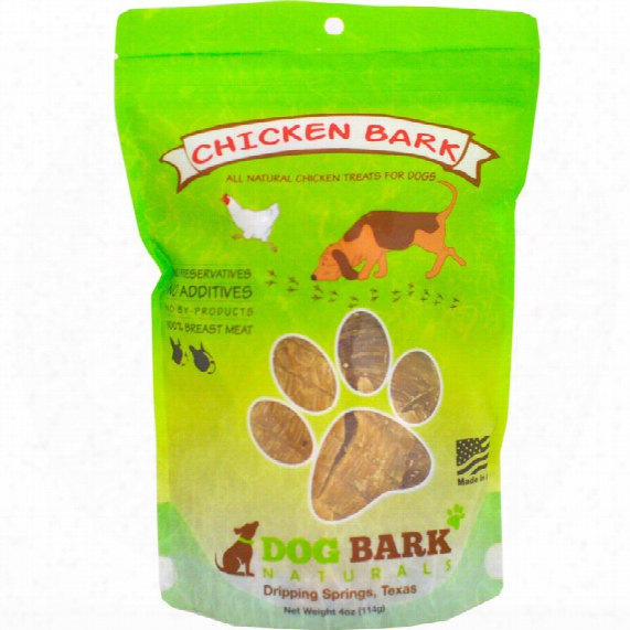 Dog Bark Naturals Dog Treats - Chicken Bark (4 Oz)