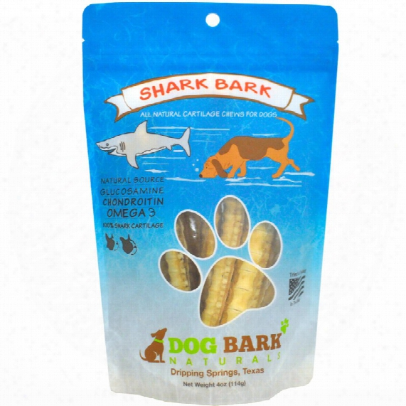Dog Bark Naturals Dog Treats - Shark Bark (4 Oz)