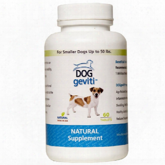 Doggeviti For Smaller Dogs Up To 50 Lbs (60 Tablets)