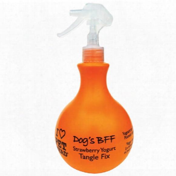 Dog's Bff Strawberry Yogurt Tangle Fix Spray (15 Oz)