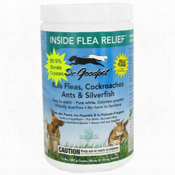 Dr. Goodpet Inside Flea & Relief (1.5 Lbs)
