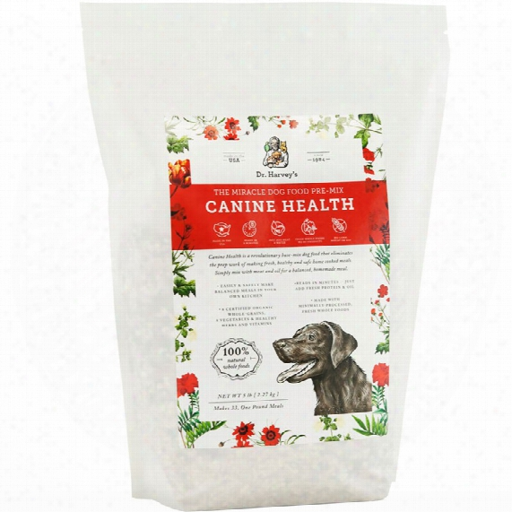 Dr. Harvey's Canine Health Miracle Dog Food (5 Lbs)