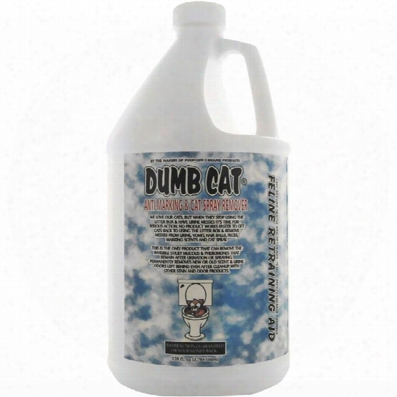 Dumb Cat Anti-marking & Cat Spray Remover (128 Fl Oz)