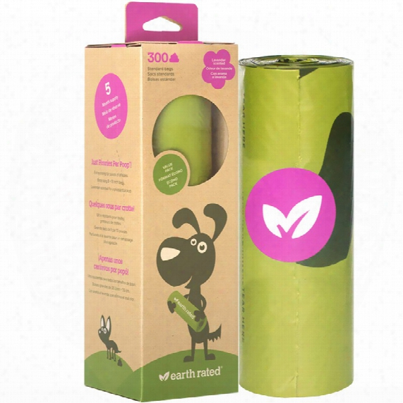 Earth Rated Scented Poop Bag Roll (300 Bags)