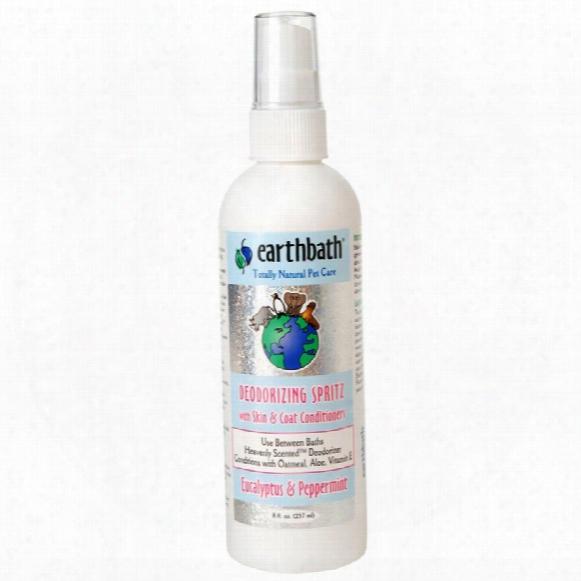Earthbath Deodorizing Spritz - Eucalyptus & Peppermint (8 Oz)
