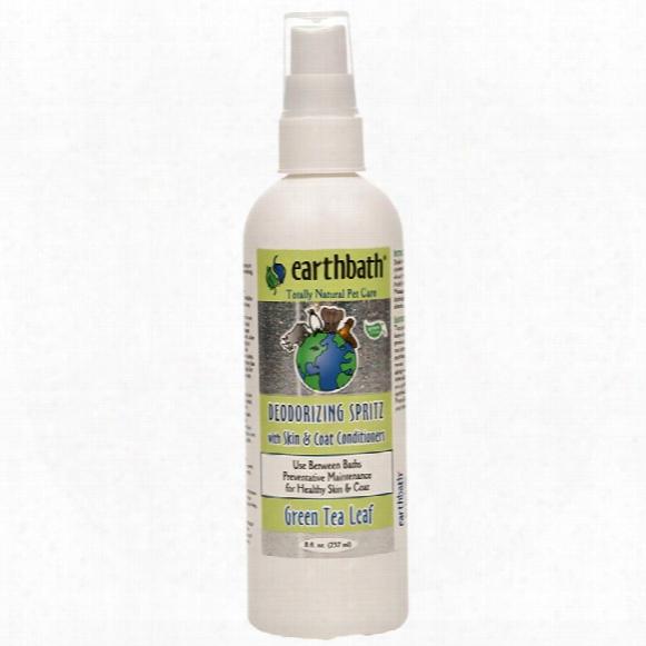 Earthbath Deodorizing Spritz - Green Tea Leaf (8 Oz)
